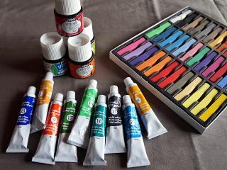 Différents colorants pour la Fimo liquide et la résine cristal