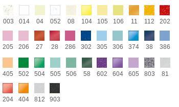 Fimo effect avec 37 couleurs disponibles