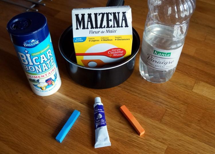 Les ingrédients nécessaires pour la recette