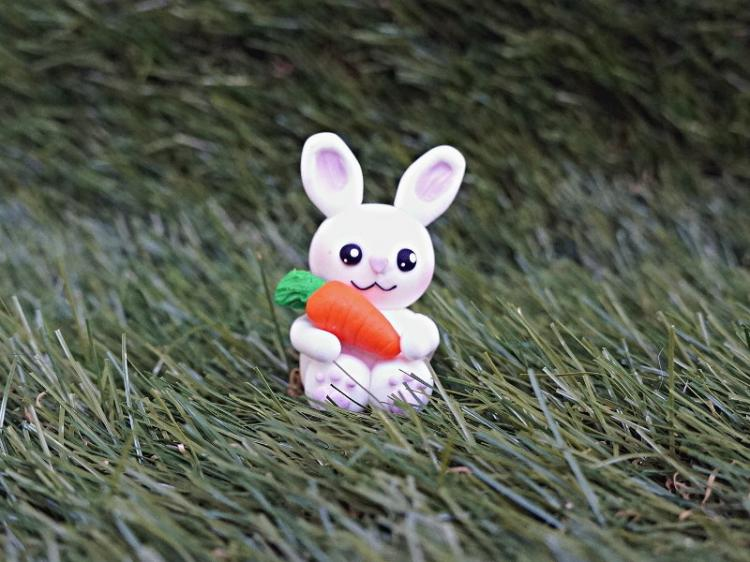Tutoriel kawaii : lapin en fimo