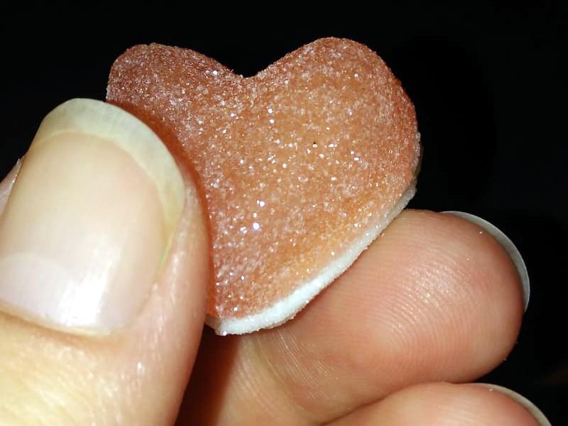 Exemple sur un cœur pik